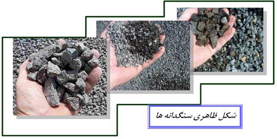 انواع سنگدانه ها در صنعت بتن