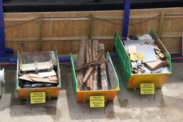 بازیافت نخاله های ساختمانی