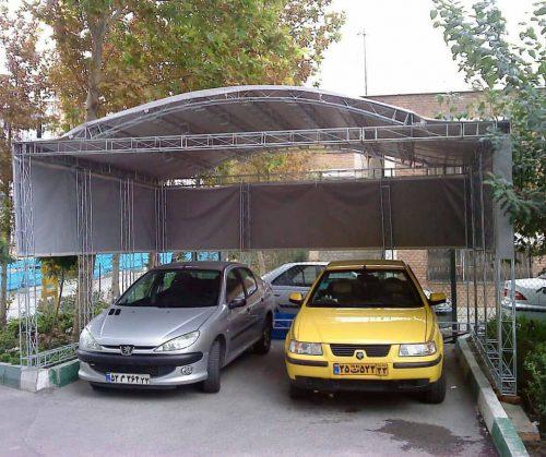 پارکینگ های موقت و دائم