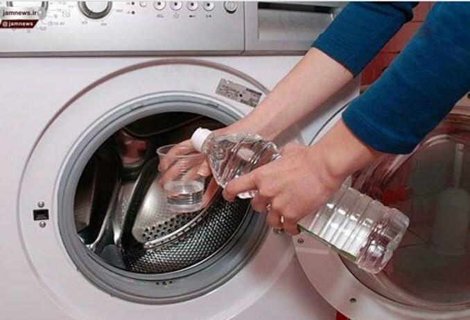 تمیز کردن لباسشویی با سرکه