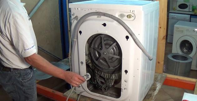 شیلنگ تخلیه آب لباسشویی