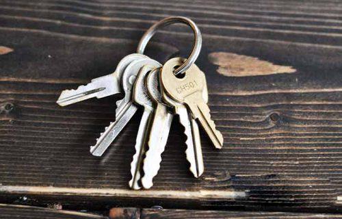 کلیدهای یک لبه