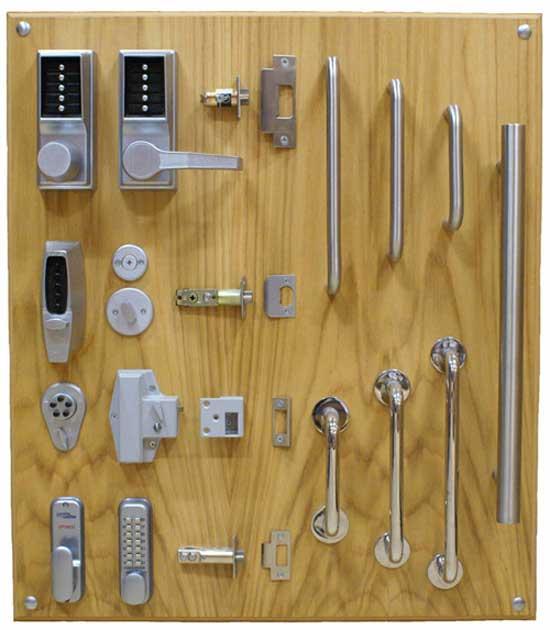 انواع قفل و دستگیره درب ضد سرقت
