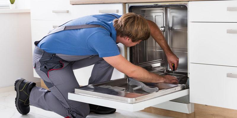 عیب های رایج در ماشین ظرفشویی