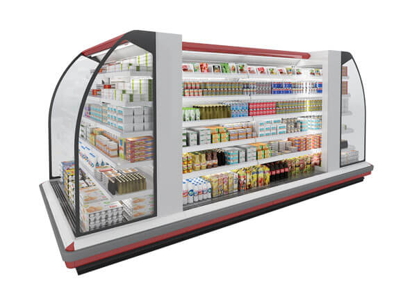 تعمیرات یخچال فروشگاهی