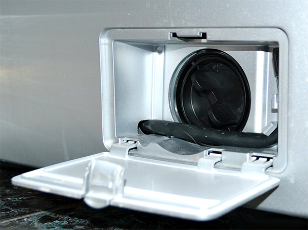 تمیز کردن رسوب گیر لباسشویی- فیلتر ماشین لباسشویی