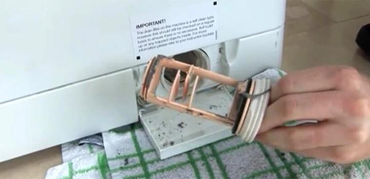 رسوب گیر ماشین لباسشویی