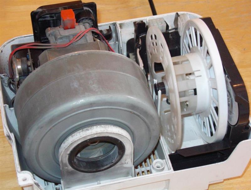 عیب یابی و تعمیر موتور جاروبرقی