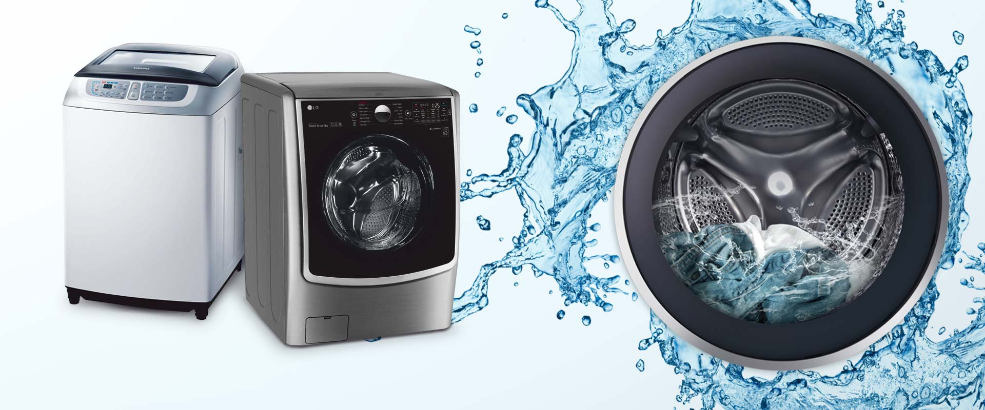 گرم نبودن آب در ماشین لباسشویی