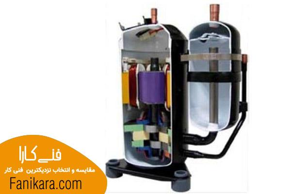 کمپرسور روتاری یکی از انواع کمپرسور کولر گازی