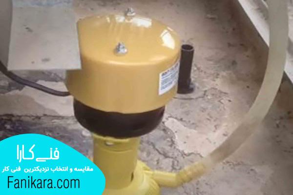 نصب استاندارد پمپ آب کولر آبی