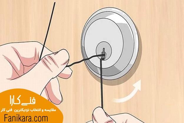 باز کردن قفل درب منزل