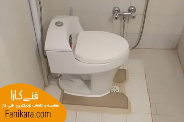نحوه تعویض توالت ایرانی با فرنگی